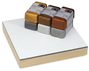 Metallic Colors, Set of 6 Cakes