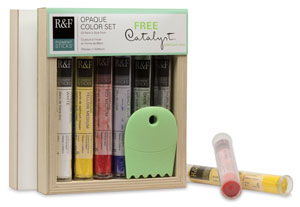 Opaque Colors, Set of 6 with <strong>FREE</strong> Catalyst C-22 Contour
