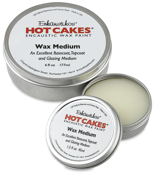 Wax Medium, 6 oz and 1.5 oz Tins