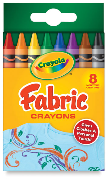 Fabric Crayons, Set of 8