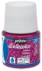 Pebeo Setacolor Fabric Paint, Ruby Glitter