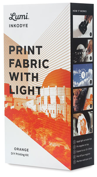 Inkodye UV Fabric Printing Kit, Orange