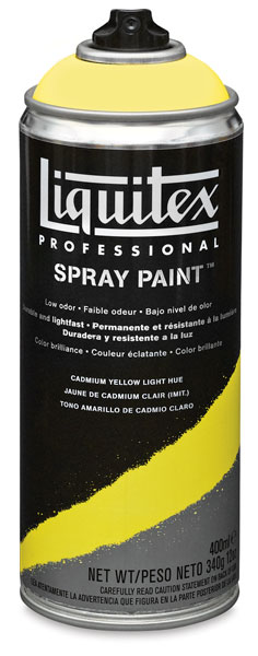 Liquitex Professional Spray Paint, Cadmium Yellow Light Hue