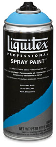 Liquitex Professional Spray Paint, Brilliant Blue