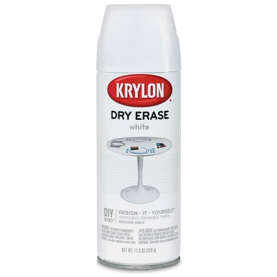 Krylon Dry Erase Spray, White