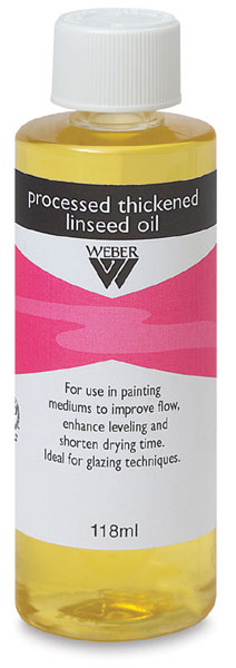 Process Thickened Linseed Oil