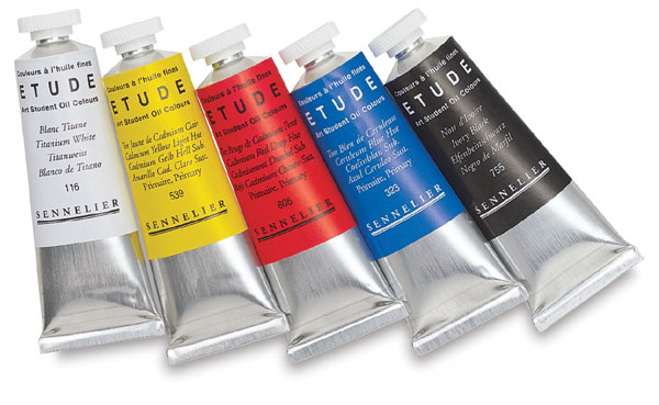 Etude Art Student Oil Colors