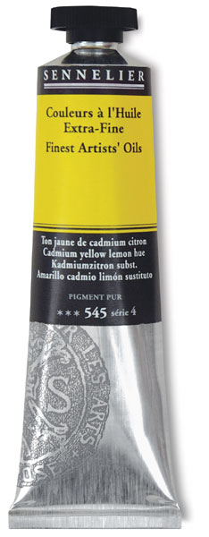 Cadmium Yellow Lemon Hue, 40 ml Tube