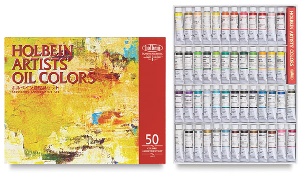 Set of 50 Colors, in 10 ml Tubes