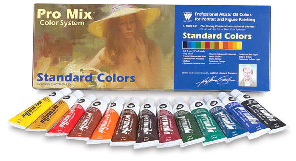Standard Oil Color Set