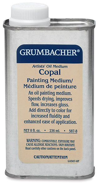 Copal Painting Medium, 8 oz