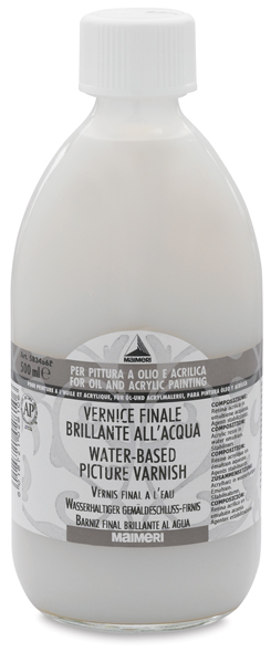 Water-Based Picture Varnish, Regular, 500 ml