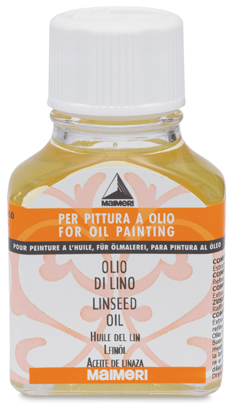 Linseed Oil, 75 ml