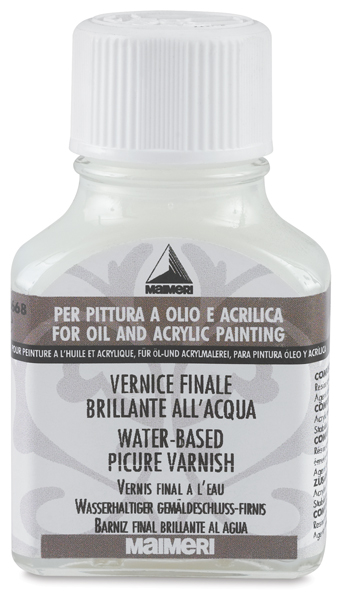 Water-Based Picture Varnish, Regular, 75 ml