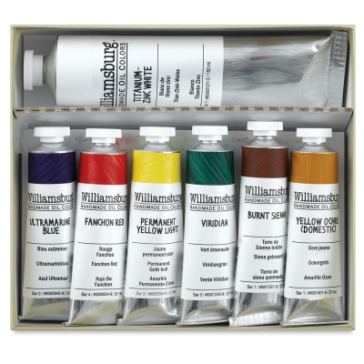 Basic Painting Set, 7 Tubes