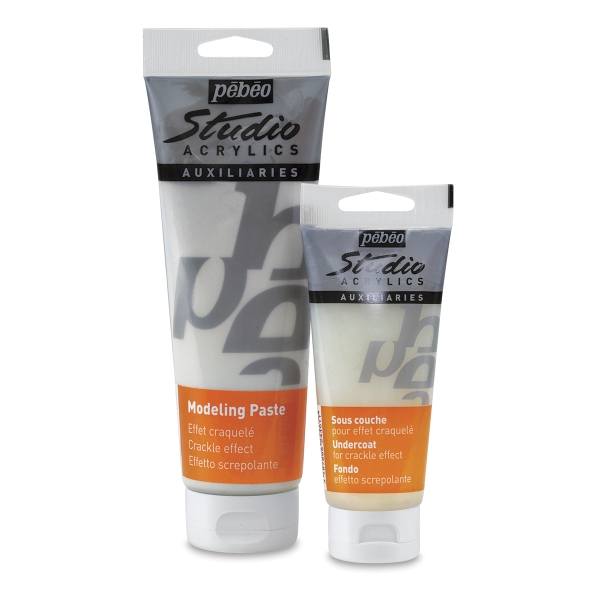 Crackling Effect Modeling Paste