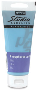 Phosphorescent Gel, Blue