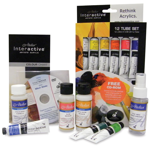 Atelier Interactive Plein Air Painting Set