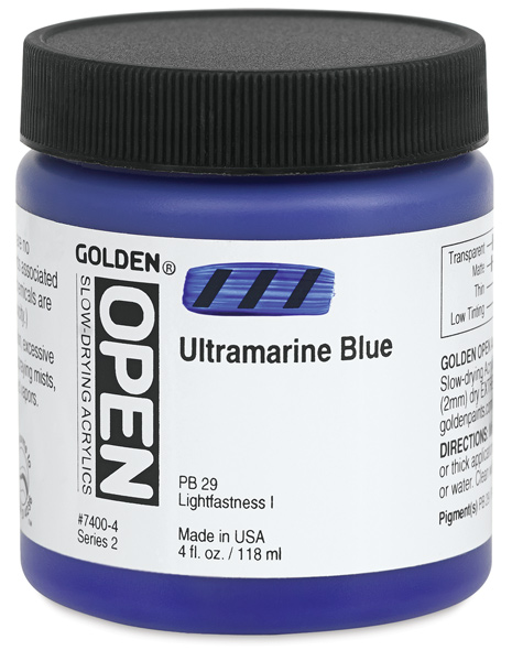 Ultramarine Blue, 4 oz Jar