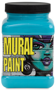 Chroma acrylic mural paint blick art materials for Chroma mural paint