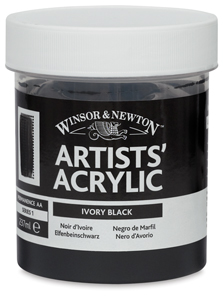 Ivory Black, 237 ml Jar