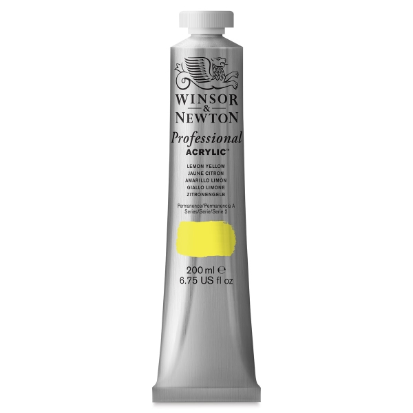 Winsor & Newton Professional Acrylics, 200 ml Tube