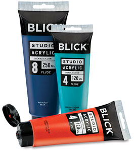 Studio Acrylic Colors 4 oz and 8 oz