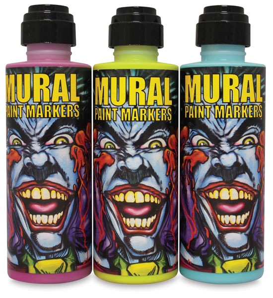 Chroma mural paint markers blick art materials for Chroma mural paint