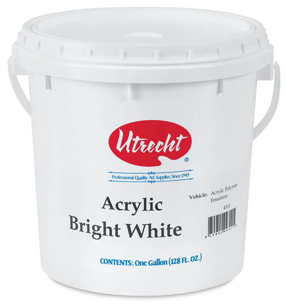 Studio Series Acrylic, Bright White, 1 Gallon