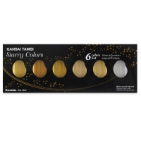 Gansai Tambi Watercolor Starry Colors Set of 6