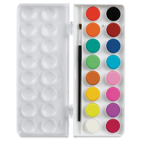 Sargent Watercolor Cakes, Set of 16