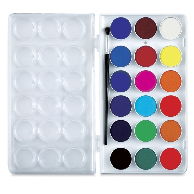 Sargent Watercolor Cakes, Set of 18