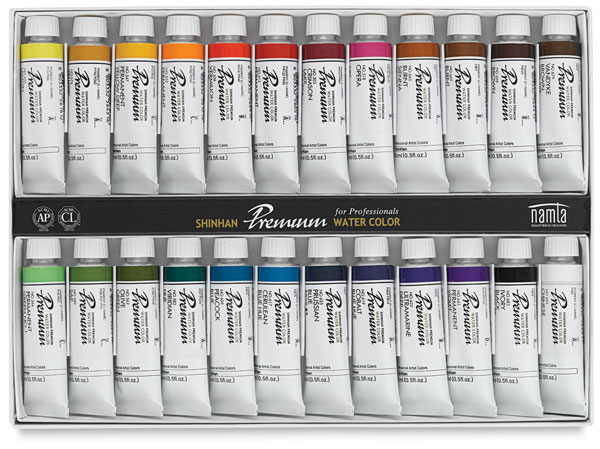 Set of 24 Colors