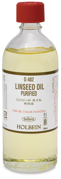 Purified Linseed Oil, 200 ml
