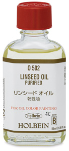 Purified Linseed Oil, 55 ml