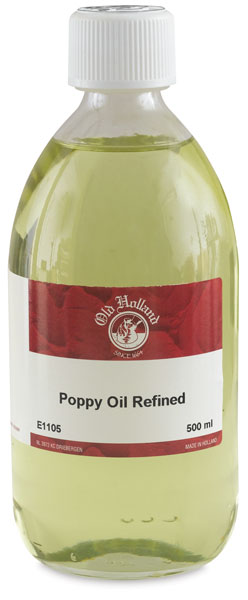 Refined Poppy Oil, 500 ml