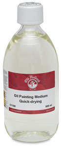 Quick Drying Painting Medium, 500 ml