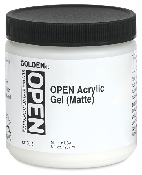 Acrylic Gel, Matte, 8 oz Jar