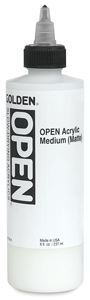 Acrylic Medium, Matte, 8 oz Bottle