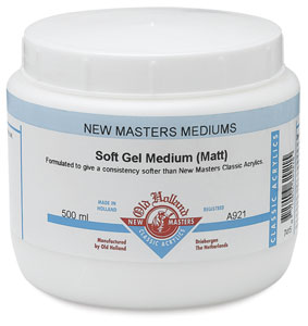 Soft Gel Medium, Matte