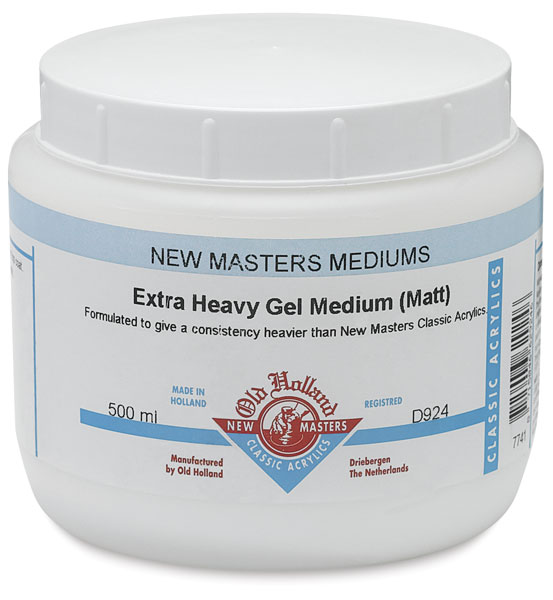 High Build Gel Medium (No Filler), Matte