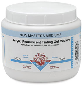 Pearlescent Tinting Gel Medium