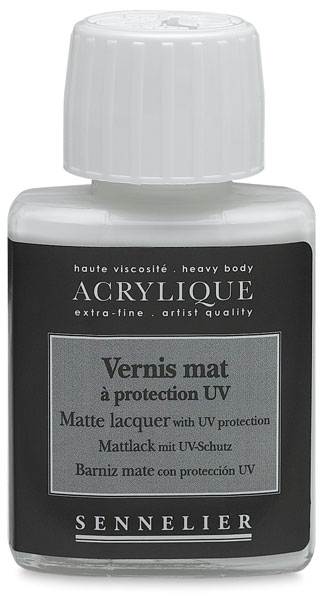 Matte Lacquer with UV Protection, 75 ml