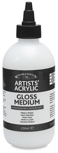 Gloss Medium, 250 ml Bottle
