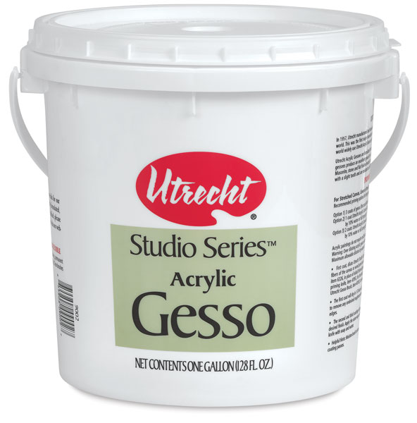 Studio Series Acrylic Gesso, Gallon