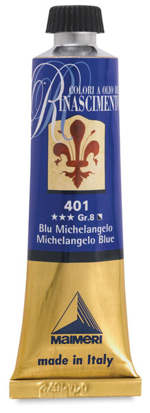 Renaissance Oil Color, Michelangelo Blue