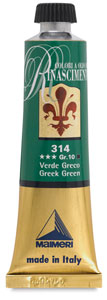 Renaissance Oil Color, Greek Green