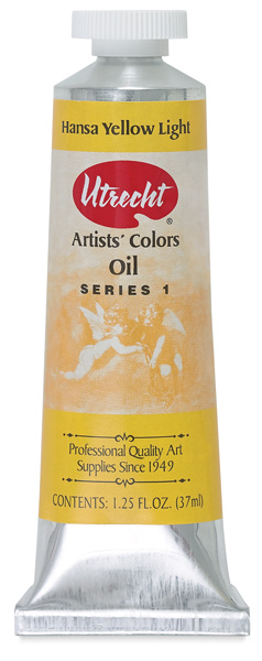 Utrecht Artists' Oil, Hansa Yellow Light, 37 ml