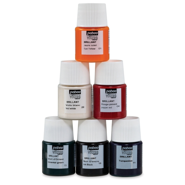 Set of 6 Glossy Colors