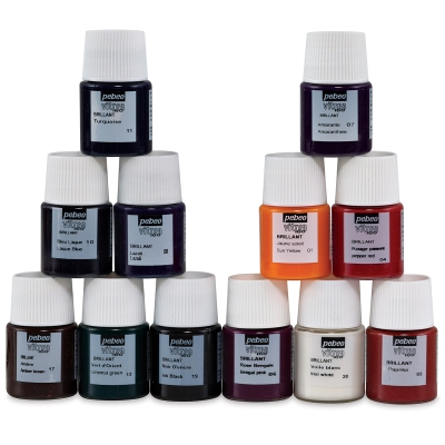 Set of 12 Glossy Colors
